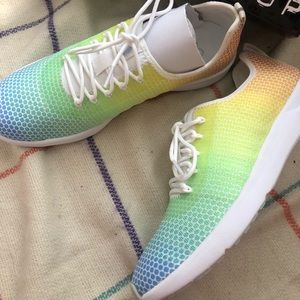 Jessica Simpson multi color sneakers
